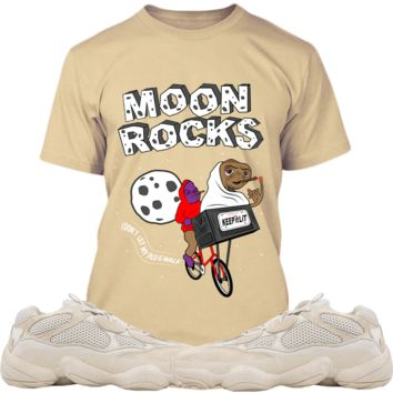 Adidas Yeezy 500 Super Moon Yellow Sneaker Tees Shirt - MOON ROCKS PG