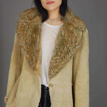 Sweet Dream Woman Shearling Leather Jacket
