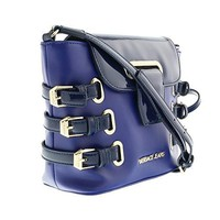 Versace EE1VOBBE1 E240 Blue/Gold Crossbody/Shoulder Bag