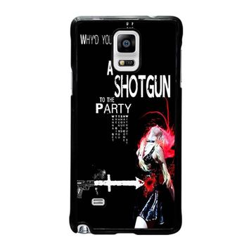 THE PRETTY RECKLESS QUOTES Samsung Galaxy Note 4 Case Cover