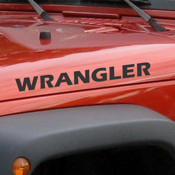 Jeep Wrangler Decals