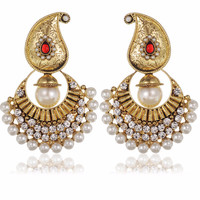 Golden Queen Ethnic Earrings