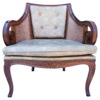 French-Style Carved Side Chair