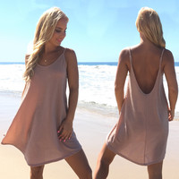 All Thats Shimmers Dress In Lite Pink