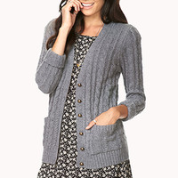 Iconic Cable Knit Cardigan