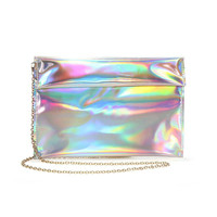 Hologram Clutch Bag