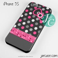 hello kitty polkadots Phone case for iPhone 4/4s/5/5c/5s/6/6 plus