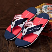 Tommy Hilfiger: 2017 Summer men sandals Male slippers Shoes flip-flops New