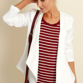 On Fire Blazer Ivory