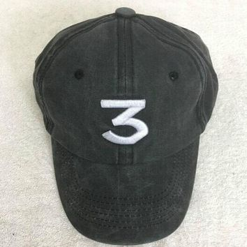 Trendy Chance The Rapper 3 Hat Baseball Cap
