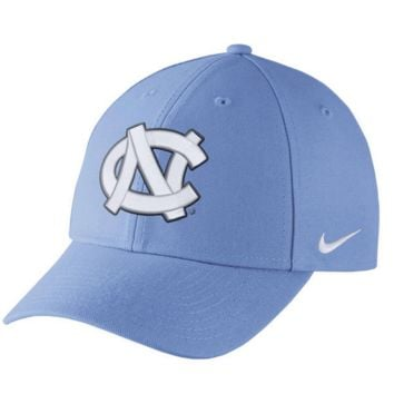 North Carolina Tar Heels Nike Dri-Fit Wool Classic Adjustable Hat