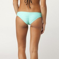 SOLID CINCHED BASIC CHEEKY BOTTOMS