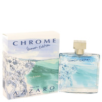 Chrome Summer Cologne by Azzaro 3.4 oz Eau De Toilette Spray