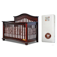 AFG Jordana Lia 3-in-1 Baby Crib w/ Free Mattress