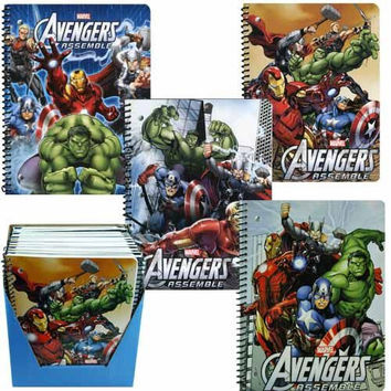 Marvel's Avengers Theme Note Book (4 pack)