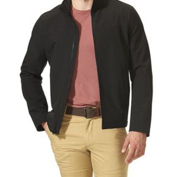 Dockers Classic Zip Front Jacket - Black - Men's