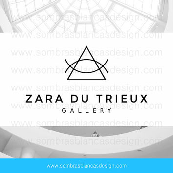OOAK Premade Logo Design - Simple Triangle - Perfect for a fashion designer or an art gallery