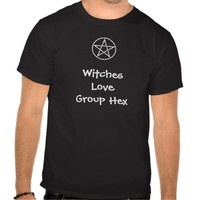 Witches Love Group Hex Pagan Wiccan T Shirt