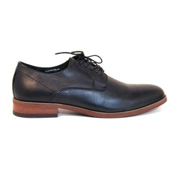Florsheim Rock It Plain Ox - Black Leather Smooth Oxford