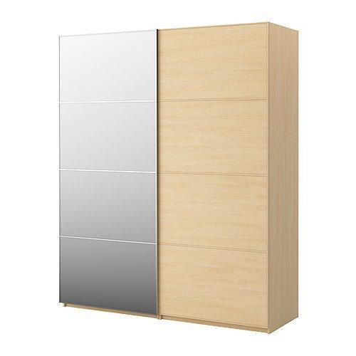 pax wardrobe with sliding doors pax from ikea. Black Bedroom Furniture Sets. Home Design Ideas