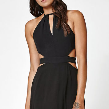 Kendall and Kylie Cutout Keyhole Halter Dress at PacSun.com