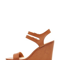 Faux Leather Wedges | Forever 21 - 2000204431