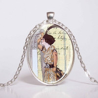Pendant with Chain - cabaret from the 20's