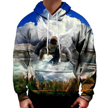 Harambe Watch Over Us Hoodie