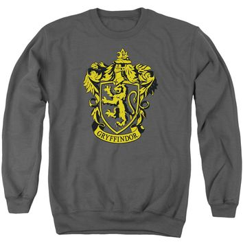 Harry Potter - Gryffindor Crest Adult Crewneck Sweatshirt Officially Licensed Apparel