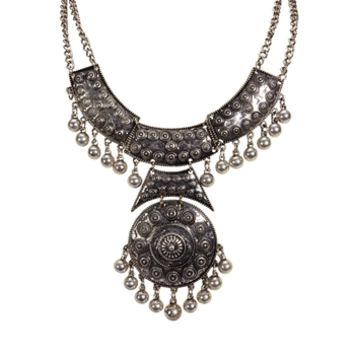 Troy Designs Juniors Boho Statement Necklace at Von Maur