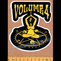 Volume 4 / Vol 4 - Ritual Skateboard Sticker