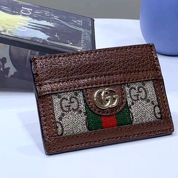 GUCCI Ophidia 2019 new women's models wild multi-card money