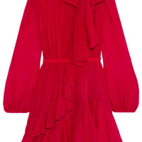 Giambattista Valli - Ruffled silk-chiffon dress