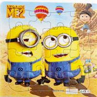 3D Paper jigsaw puzzles toys for children kids squarepants and minions for Baby educational 1001