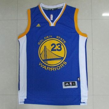 Golden State Warriors #23 Draymond Green Swingman Basketball Jerseys Blue