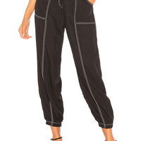 Tularosa Martha Pant in Black & White