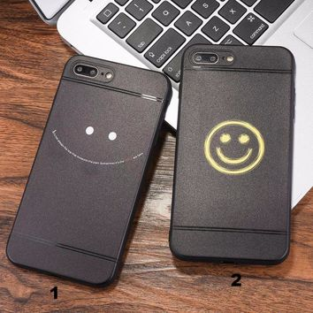 Fashion smile face mobile phone case for iPhone X 7 7plus 8 8plus iPhone6 6s plus -171211