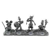 Kingdom Hearts 2012 SDCC Exclusive Mini-Statue 4-Pack - Monogram - Kingdom Hearts - Statues at Entertainment Earth