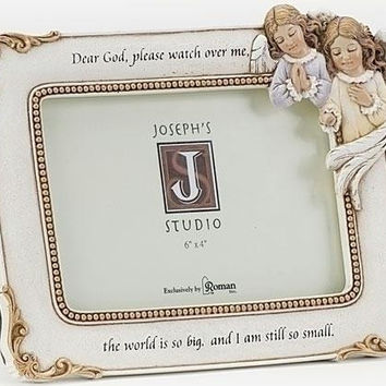 "2 Angel Picture Frames - 6.25 "" H X 8.25 "" W X 0.75 "" D"