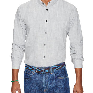 Levi's Made & Crafted Men's One Pocket Cotton Sportshirt - Grey -