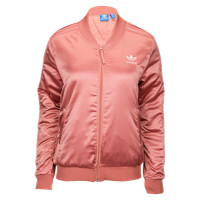 adidas Originals Pastel Satin Track Top - Women's at Foot Locker