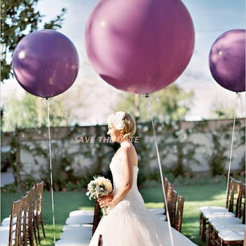 "36"" Lavender Balloons 