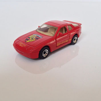 Vintage Porsche 944 Turbo Hot Wheels Car