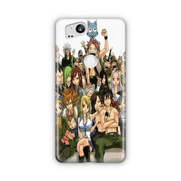 Fairy Tail Manga Collage Google Pixel 3 XL Case | Casefantasy