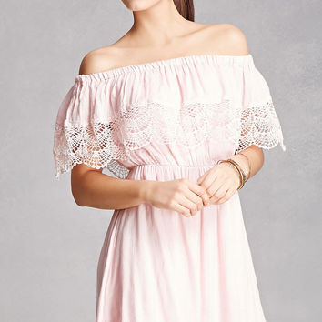 Lush Off-the-Shoulder Dress