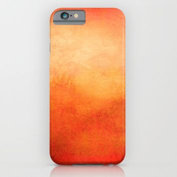 Crimson Dawn iPhone & iPod Case by Lord Egon Will
