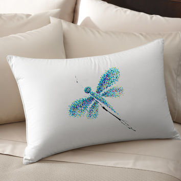 4K Dragonfly Art Decorative pillow cover 100% cotton handmade silk pillow case pillowcase cushion cover bedroom living room throw pillows