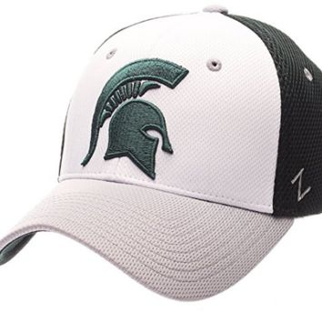 Michigan State Spartans Kickoff Flex Fit Hat By Zephyr