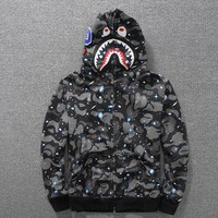 Bape Hoodies Noctilucent Long Sleeve Hip-hop Hats [58365542412]