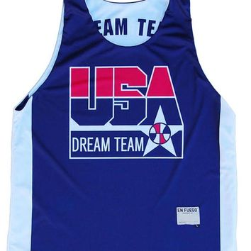 USA Dream Team Sublimated Basketball Reversible